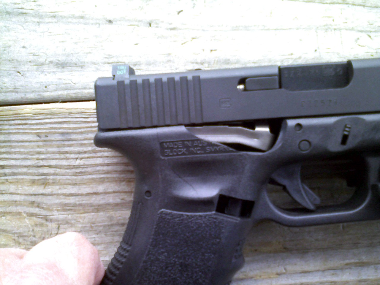 Glock 22 Kb at the range today-pic-0016.jpg
