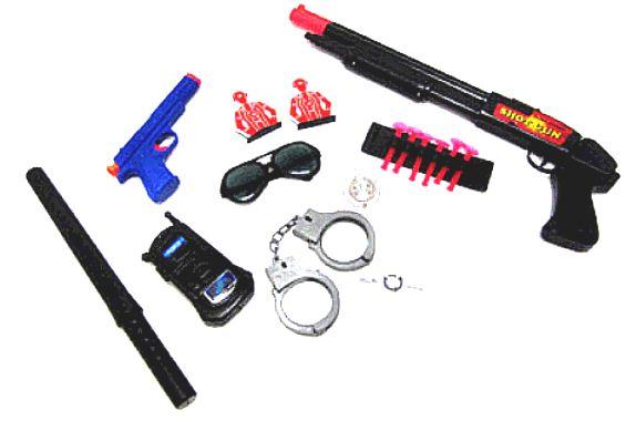 My new EDC gun and backups-policeplayset.jpg
