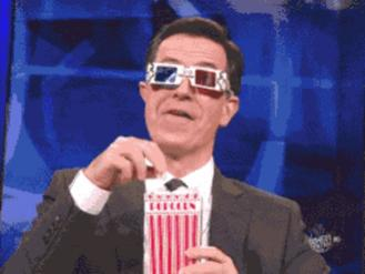 Not using social media means your crazy? DailyNews article, ridiculous!-popcorn-02-stephen-colbert.jpg
