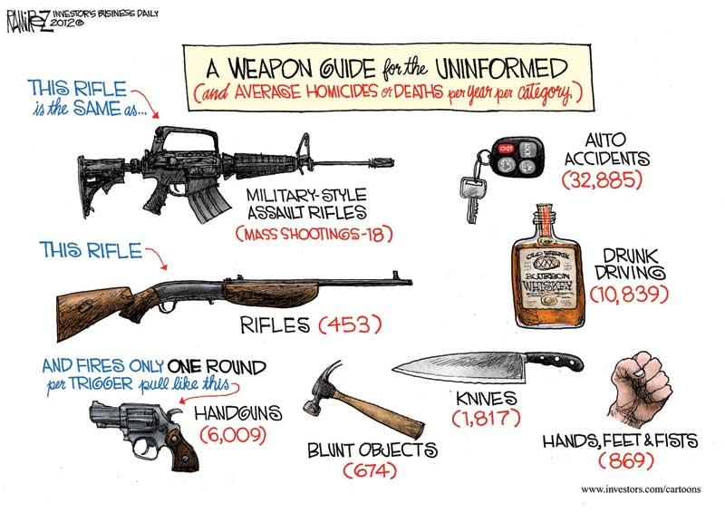 Cartoon: Weapon Guide For the Uniformed-ramfnclr-011713-gun-ibd-col.jpg