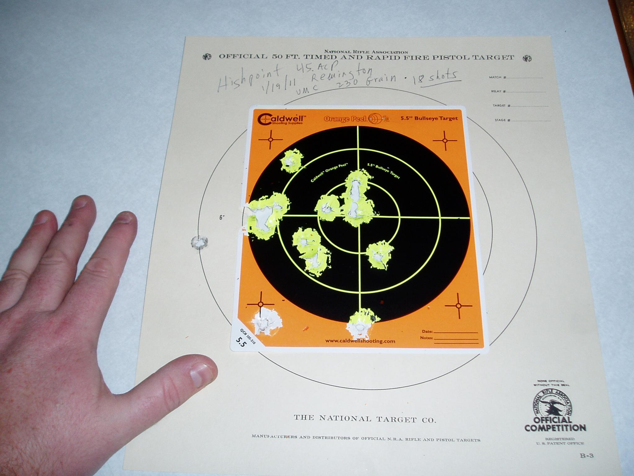 Hi Point 45 acp Range Report-range-day-003.jpg