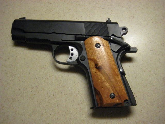Why no 4 inch 1911 on the micro frame?