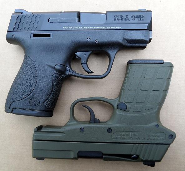 M&P 9 Shield vs  Kel-Tec PF9