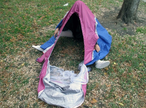 The ULTIMATE Portable Survival Shelter ------ NOT!-sheltershoes4.jpg