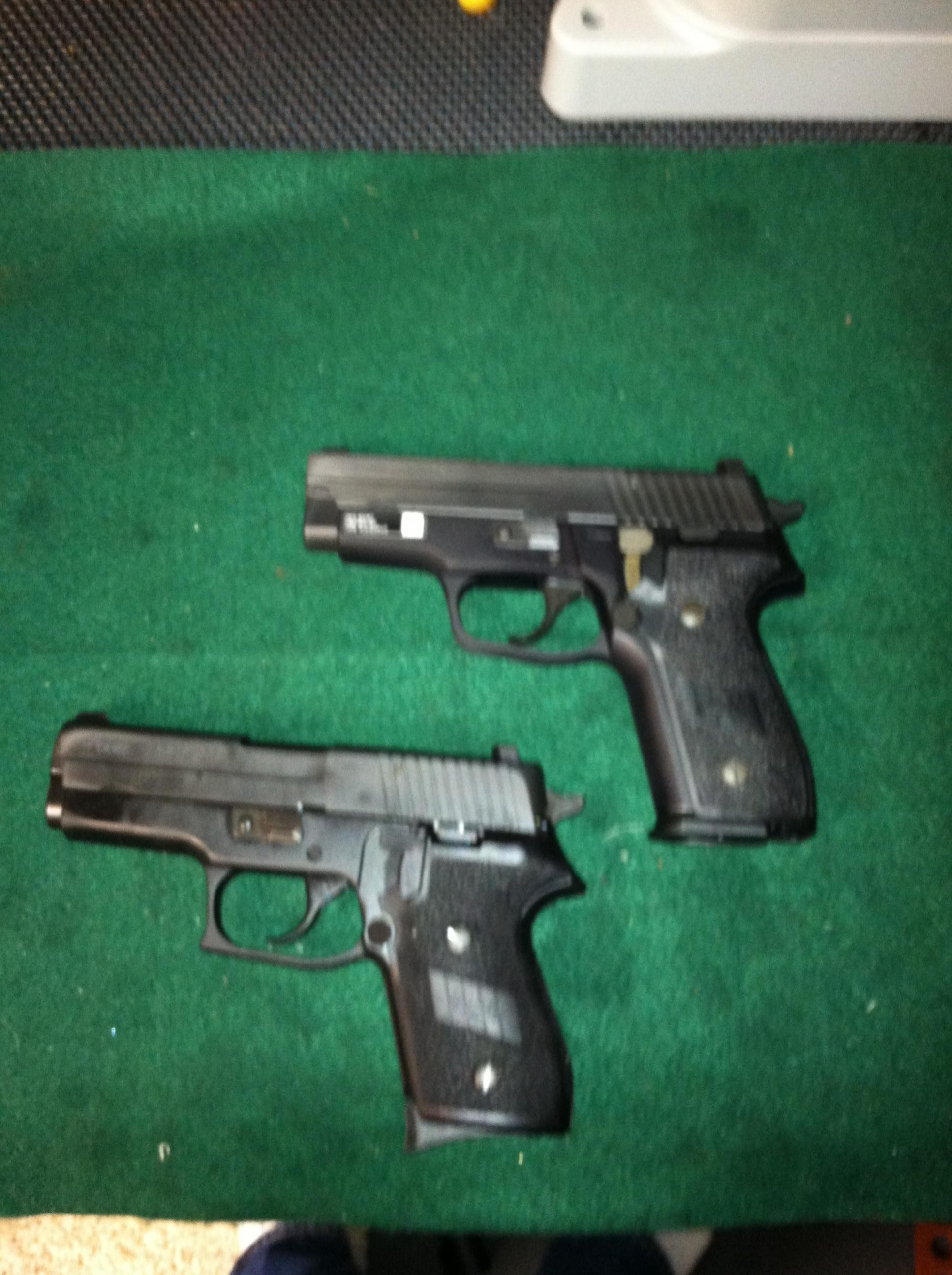Sig M11-A1 vs Sig P220  SAS comparison  9mm vs 45acp similar size Sigs-sig-pair.jpg