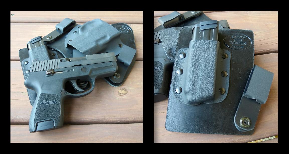 Theis IWB Hybrid Gun & Mag Holsters on a Woman-sigframe.jpg