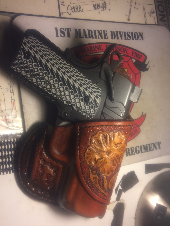 Classy cool and comfortable Kimber Ultra holster