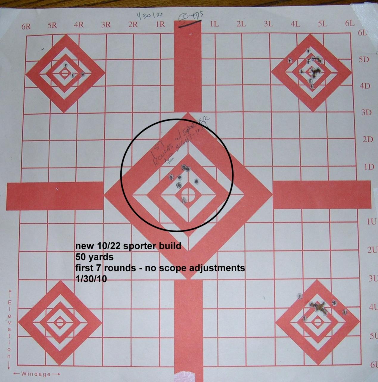 End of Barrel Laser for Adjusting scopes-sporter-first-target.jpg