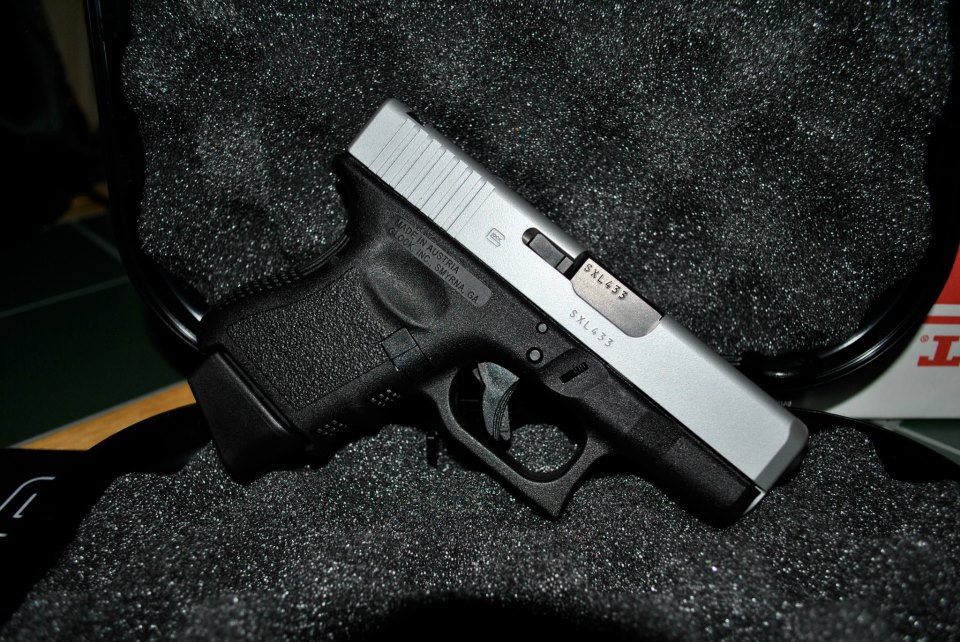 For Sale: NIB Digital and Stainless Finished Glocks-stainless-coat-glock-27.jpg