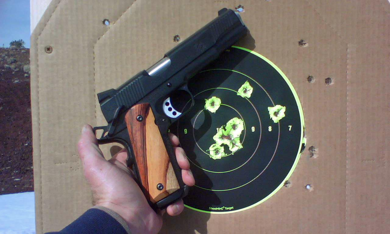 A good day at the range! HK P7 / Springfield TRP report-trp.jpg
