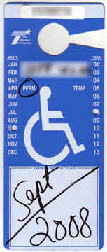 Handicap License Plates.... Do they make you more of a target???-tx-disabled-placard-front.jpg