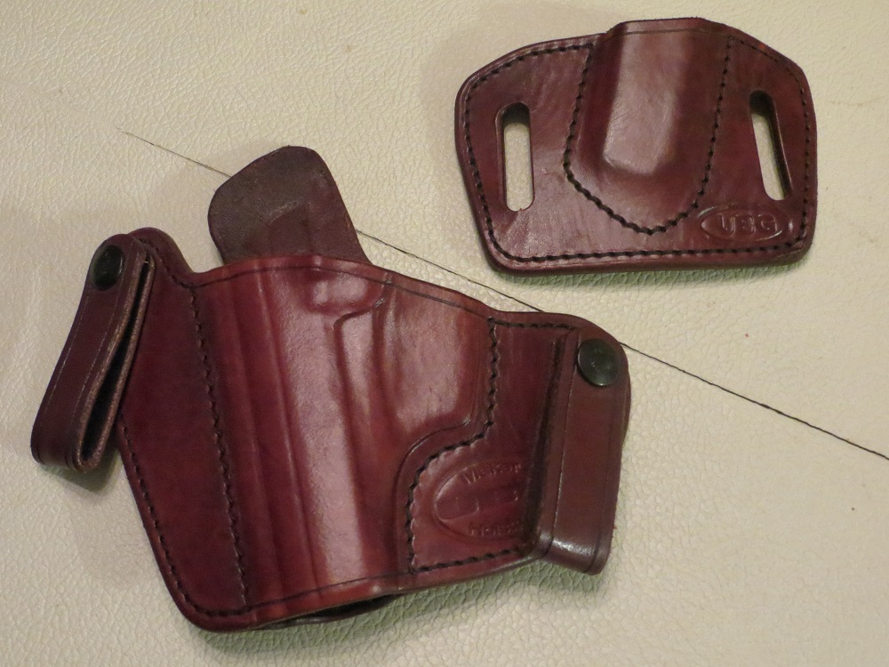 LEFT Hand UBG Canute Holster with Mag Holder for Walther PPK (TN)-ubg-front-small.jpg
