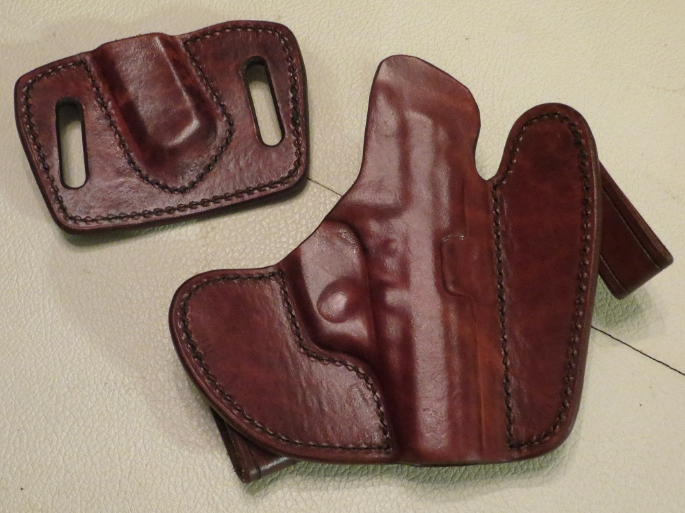 LEFT Hand UBG Canute Holster with Mag Holder for Walther PPK (TN)-ubg-rear-small.jpg