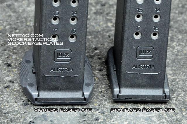 Magazine Basepads For Glocks Vickers