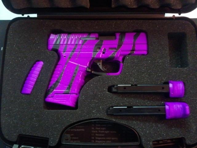 DuraCoat: Purple handgun anyone?...-waltherpps9mmzebrahotpurple.jpg