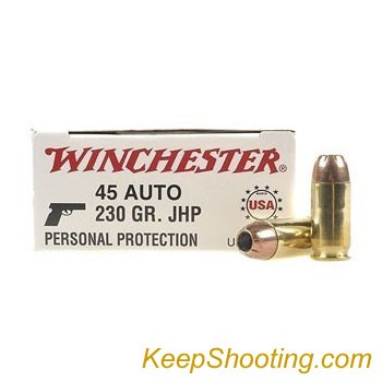 Which 45ACP HP ammo feeds closest to FMJ?-winchester-45acp-personal-protection.jpg