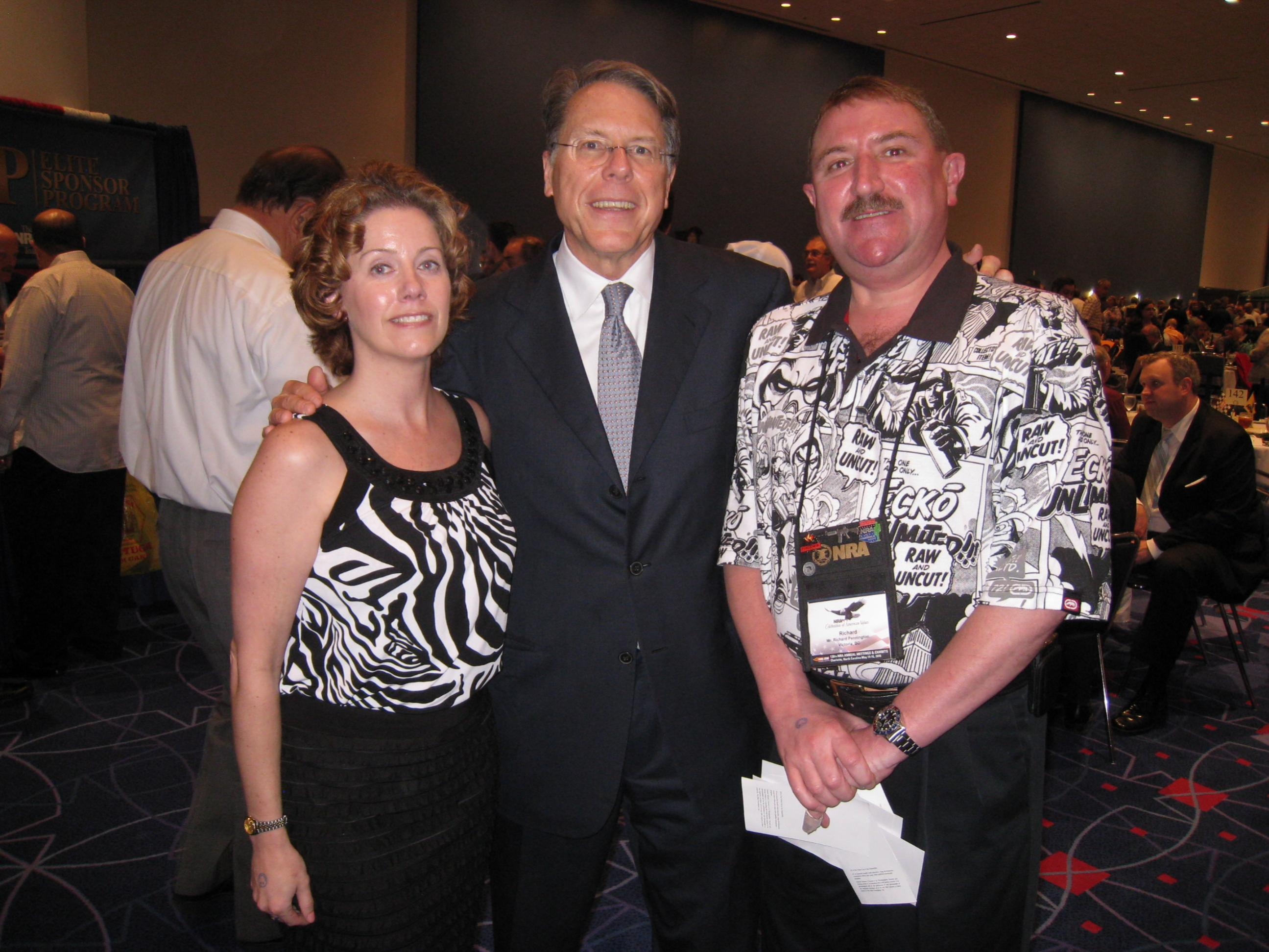Mrs GB And I Meet Up With Wayne LaPierre In Charlotte.-withlapierre.jpg
