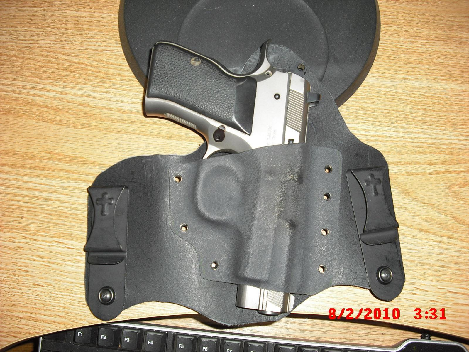 """Another """"homemade"""" holster"""
