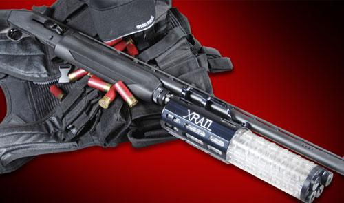Add on magazine gives up to 23 round shotgun capacity.-xrail.jpg