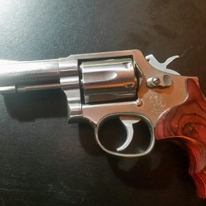 "Model 65 with 3"" barrel .357 Magnum"