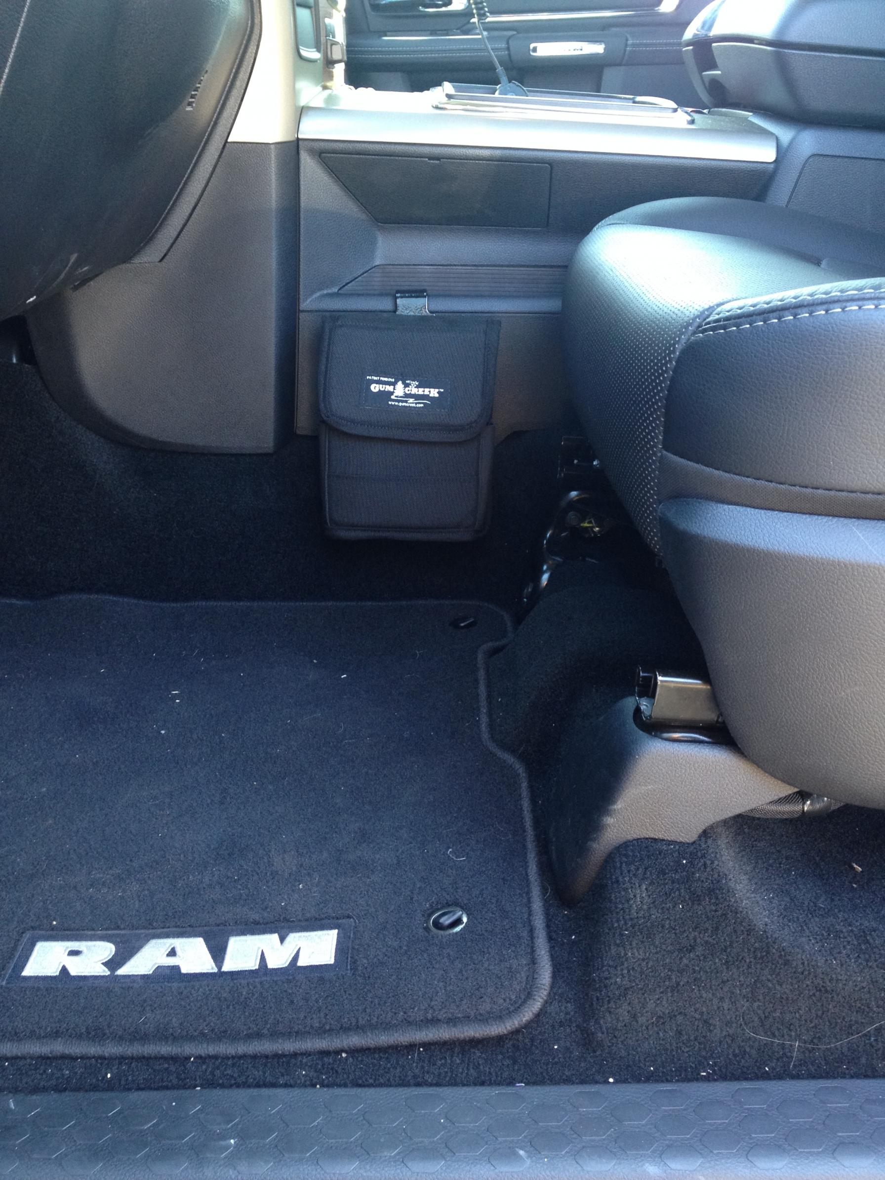 Concealed Holster In My Ram Truck